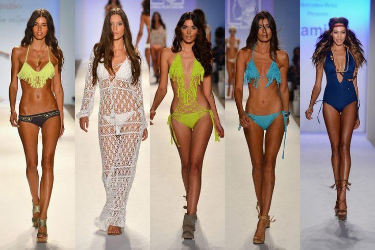 Tendencias en trajes de baño para dama verano 2013