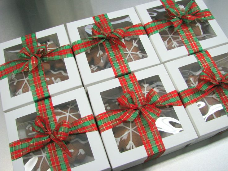 Christmas Gingerbread Gifts