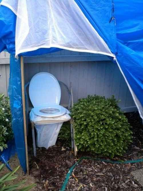 """This toilet that takes """"pee behind the bush"""" to a whole new level:"""