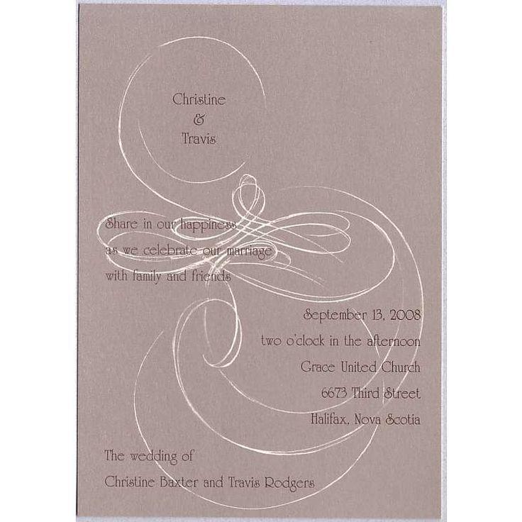 Celtic Love Knot Irish Wedding Invitations