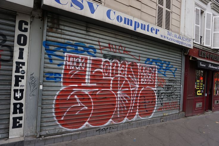 Paris / Bombing Graffiti. The world is changing into a graffiti playground! Check our graffiti pictures on the site if you don't believe.