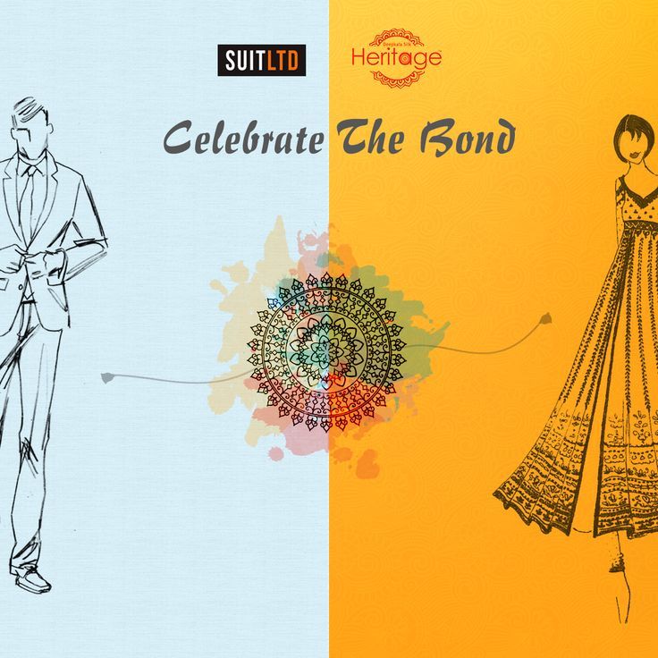Rakshabandhan is a festival which celebrates the love and care between brothers and sisters. This festive season we have decided to give the celebrations a twist, by tying up with #SuitLtd to give all you brother sister duos a chance to get something special for each other.  Suit ltd is an online web store that has revolutionised the men's formal wear fashion. Visit them here - http://www.suitlimited.com/. #Rakshabandhan #Brandcollaboration #DeepkalaSilkHeritage @suitltd