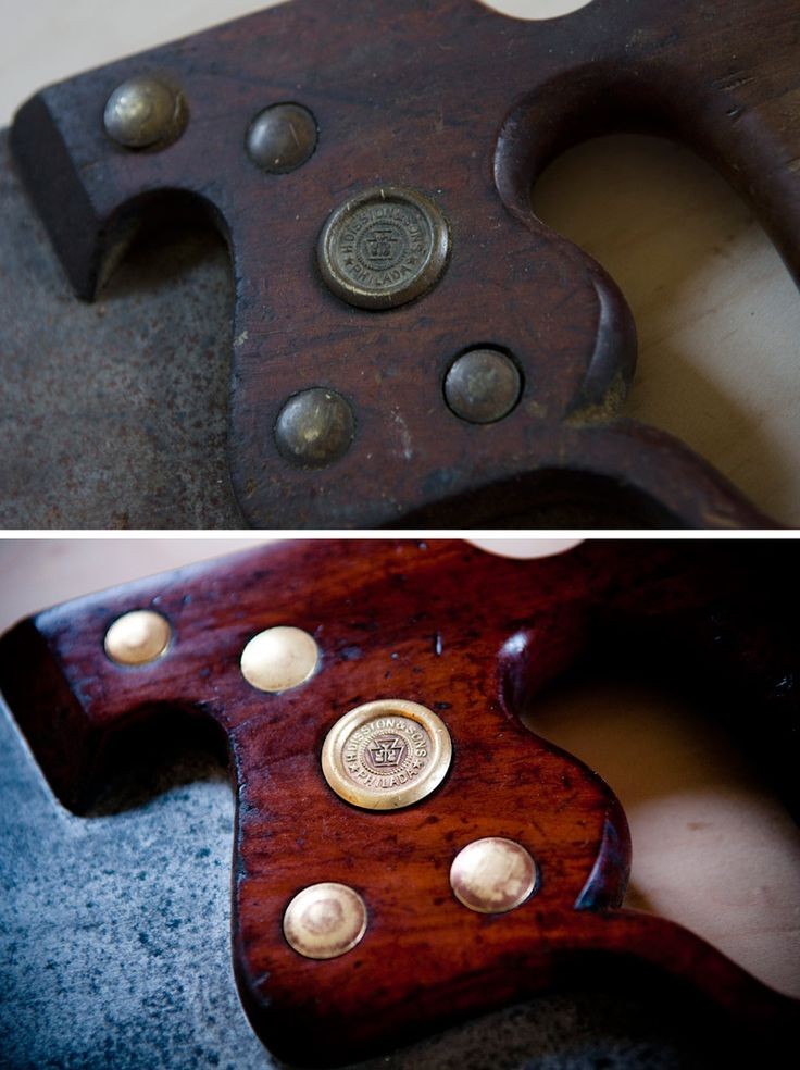 Jul 2015 - 19 min - Uploaded by Jorge AraujoTook an old Disston back saw I found on Ebay for $10 and restored it to the.