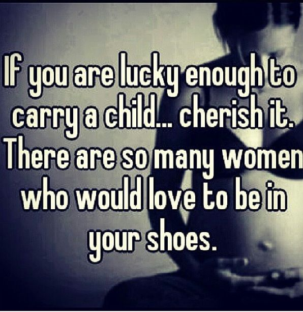 This sign needs to be posted in every labor and delivery room....some people don't realize how lucky they are!