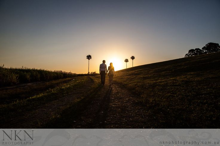 Brisbane Sunset Engagement - Wendy & Steve - Jacobs Well