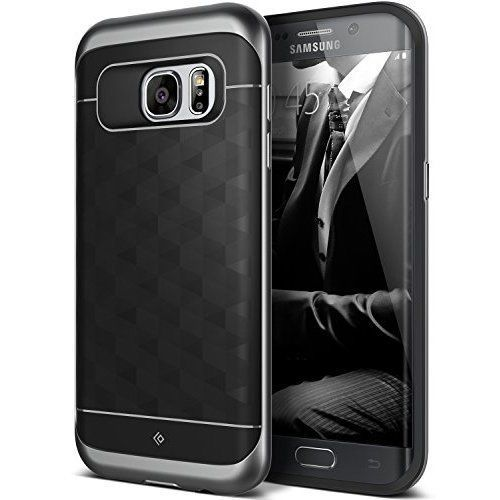 Protective Case Galaxy S7 Edge Skin Cover Dual Layered TPU Modern Slim Design #ProtectiveCaseCover