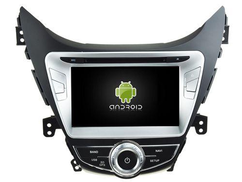 Android 5.1.1 CAR Audio DVD player FOR HYUNDAI ELANTRA I35 AVANTE 2010-2013 gps Multimedia head device unit  receiver BT WIFI