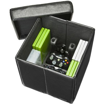 Looking at 'Level Up Vault Universal Folding Game Storage Ottoman' ... - 8 Best Images About Xbox Games & Accessories On Pinterest