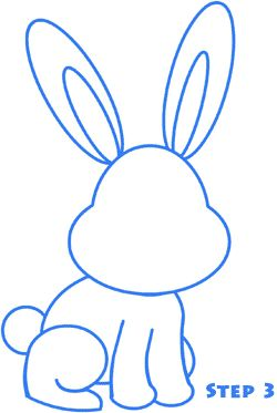 Step by Step -- Learn How to Draw a Bunny