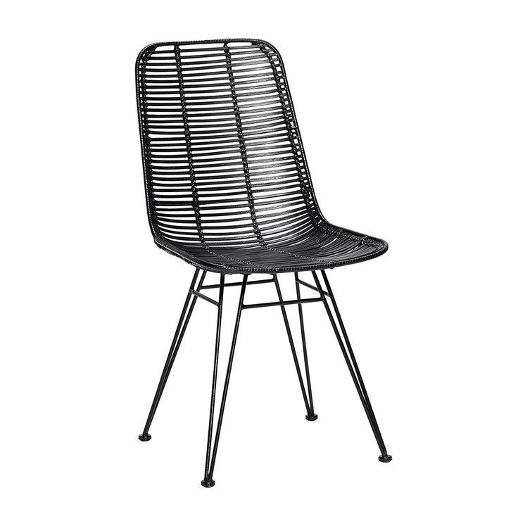 2 stk. Studio stol sort fra Hübsch Interior. Hurtig leveringstid. 14 dages fuld returret. På lager. Fri fragt ved køb over 499,-