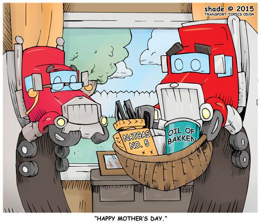 Cartoon - Week of May 4, 2015 | Transport Topics Online | Trucking