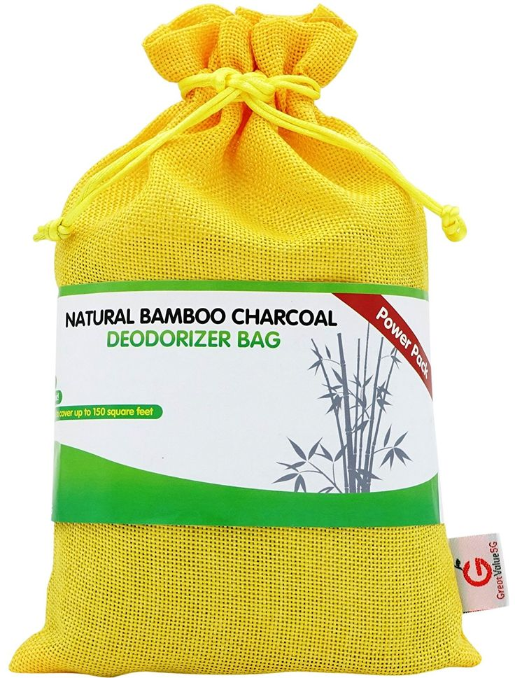 Amazon.com: Great Value SG Bamboo Charcoal Deodorizer Power Pack, Best Air Purifiers for Smokers & Allergies, Perfect Car Air Fresheners, Remove Smell for Home & Bathroom, FREE E-GUIDE (Yellow): Home & Kitchen