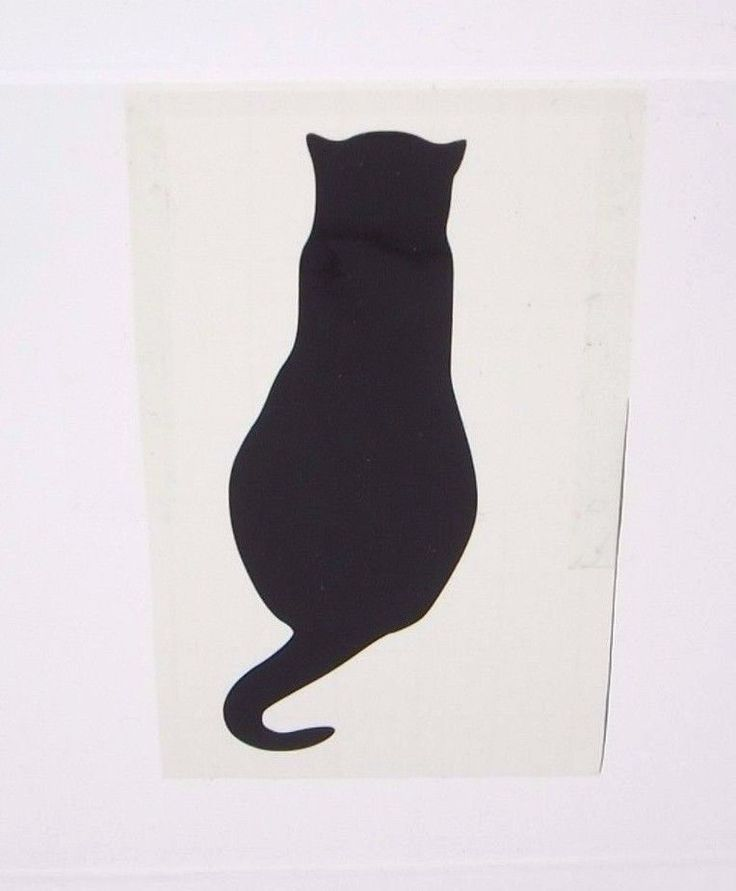 Best Images About Here There Every Where On Pinterest - Vinyl decal cat pinterest