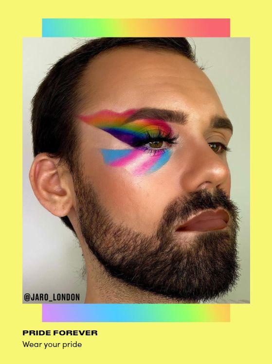 Wear your pride makeup Dope Makeup, Eye Makeup Art, Pretty Makeup, Makeup Looks, Mystic Eye, Rainbow Makeup, Human Reference, Latest Makeup, Beauty Bay