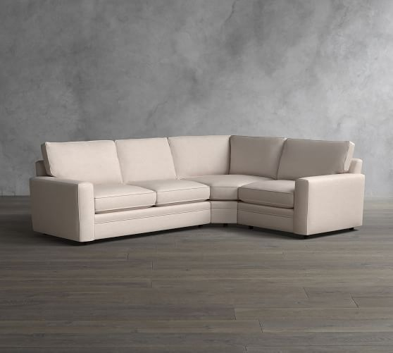 Pearce Square Arm Collection Pottery Barn Sectional 3