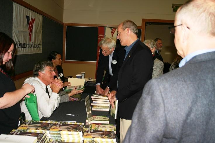 Graham Kerr, the Galloping Gourmet, and Washington State Rep, Rick Larsen.