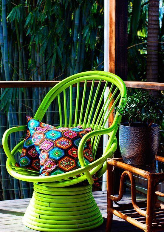 Rock The Colors: 32 Neon Home Décor Ideas | DigsDigs