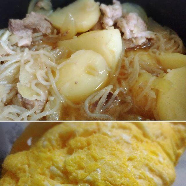 明日の朝ご飯はサクッと!メニュー! 完成です(*⌒▽⌒*)♡♡ #おうちごはん #朝ごはん #手作り #ごはん #ヘルシー #野菜 #鍋  #季節 #cooking #スープ #豆腐 #卵 #サラダ #和食 #味噌汁 #電子レンジ #健康 #玉子 #japan  #japanfood #簡単 #節約 #肉 #healthyfood #ダイエット