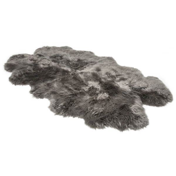 ugg sheepskin area rug quarto grey rsd liked on polyvore
