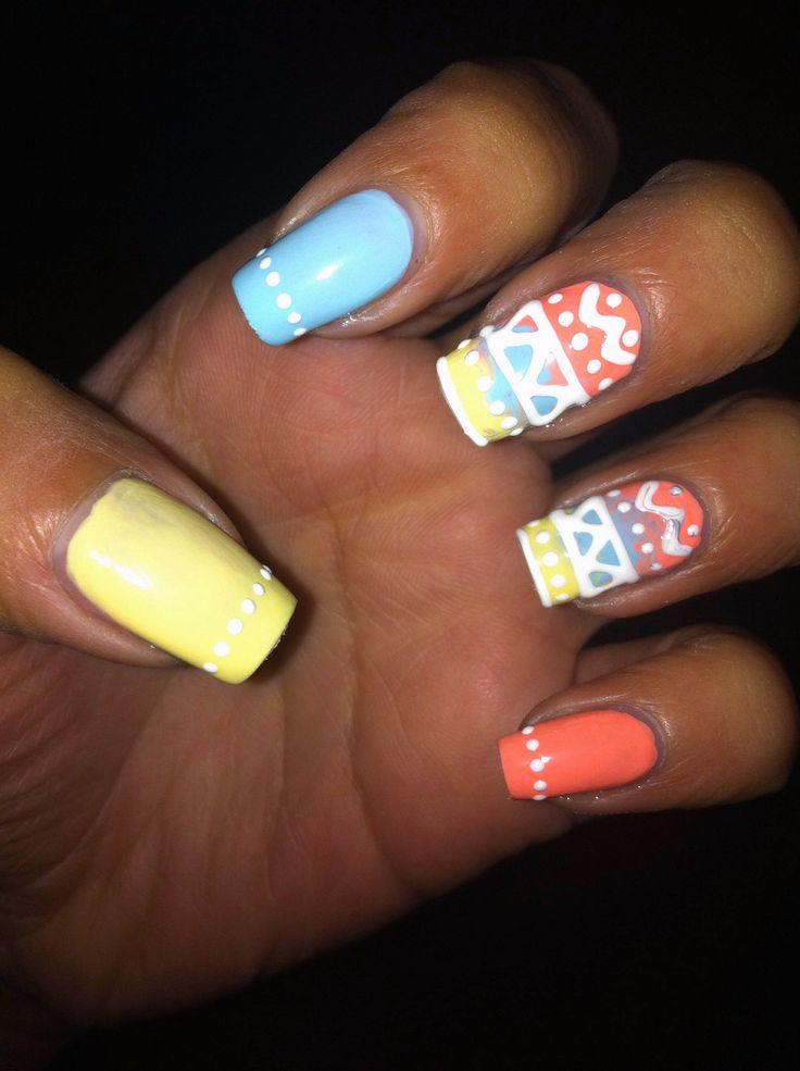 The 19 best Nail Art: Easter images on Pinterest | Nail designs ...