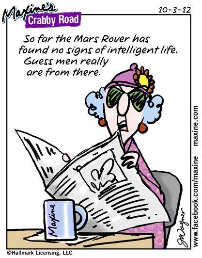 Maxine on intelligent life