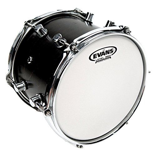 "Evans G2 Coated Drum Head, 14 Inch  14"" drum head made using two plies of 7mil film  Two plies offer consistency and durability for longer playing time  Very versatile head for all music genre applications, a true working drummer's choice  Coated to deliver additional warmth, focus, and depth, plus a unique translucent appearance  All Evans drum heads are designed, engineered and manufactured in the USA"
