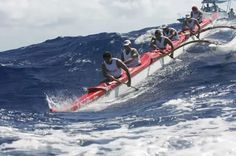 Molokai Hoe Outrigger Canoe Race. 26 miles from Molokai to Oahu in the renowned, unpredictable waters of the Kaiwi Channel. Who's in?