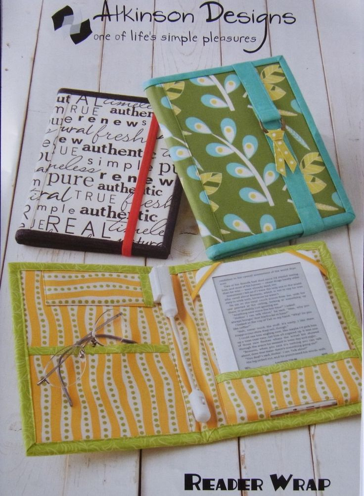 Fabric Book Cover Template : Best images about quilting sewing patterns on