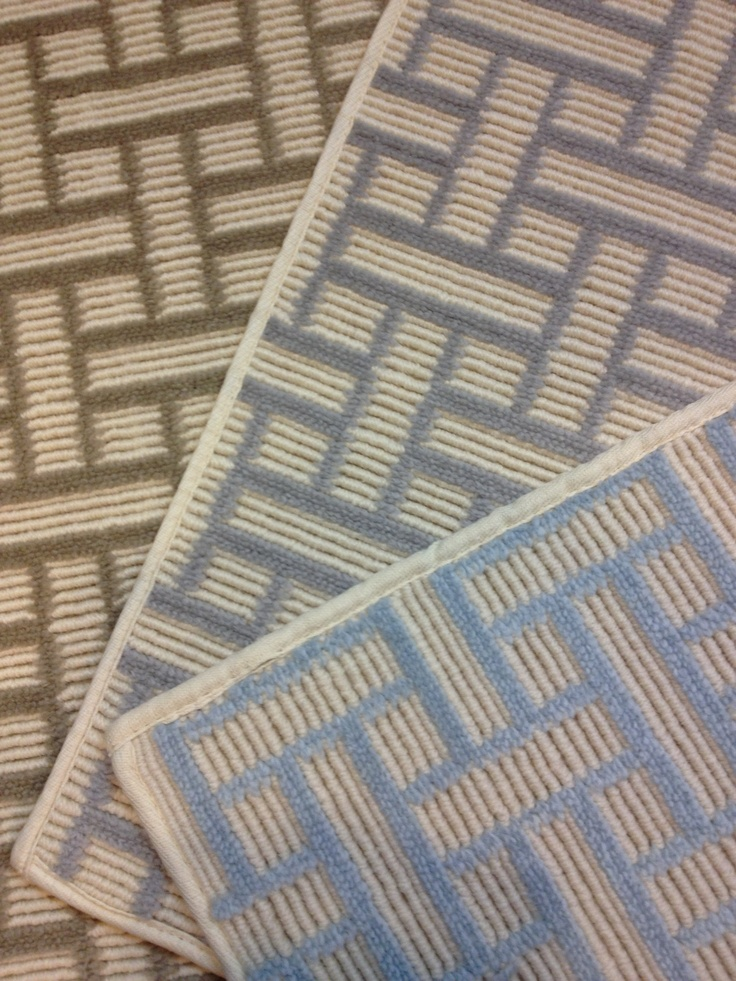 Dorado Is An Updated Geometric Patterned Wool Carpet