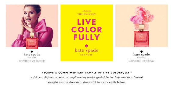 Re-pin and click here to see how you can get a Free Fragrance from Kate Spade New York! http://womanfreebies.com/free-samples/free-fragrance-spade/?free