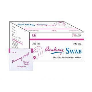Amkay – Alcohol swab with 70% Isopropyl.