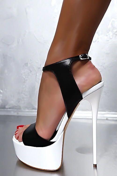 In High Plateau Heel Pumps Gz7 Made Italy Schuhe Sandalen Leder BorCeEQWdx