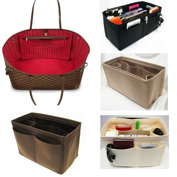 Bag Purse Organizer for Louis Vuitton Bags Felt di OriginalClub