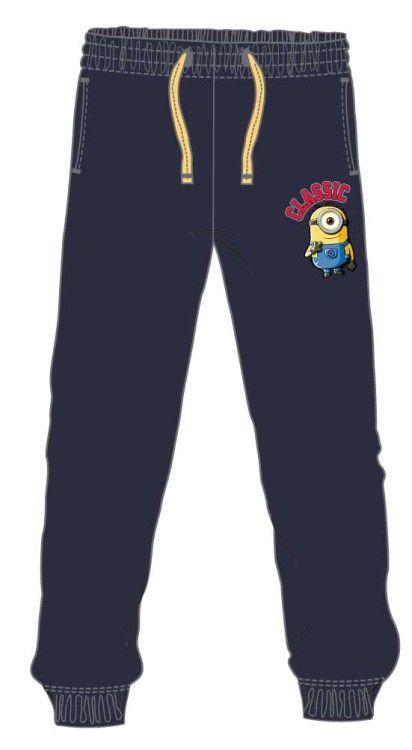 Pantaloni trening 6-12 ani, Minions 119707 bleumarin Pantalon de trening, din bumbac, calitate impecabila. Accesorizeaza cu tricouri si alte accesorii Minions. Produs original, colectia toamna-iar...