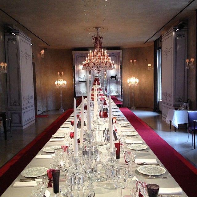 Visite Baccarat Cristallerie