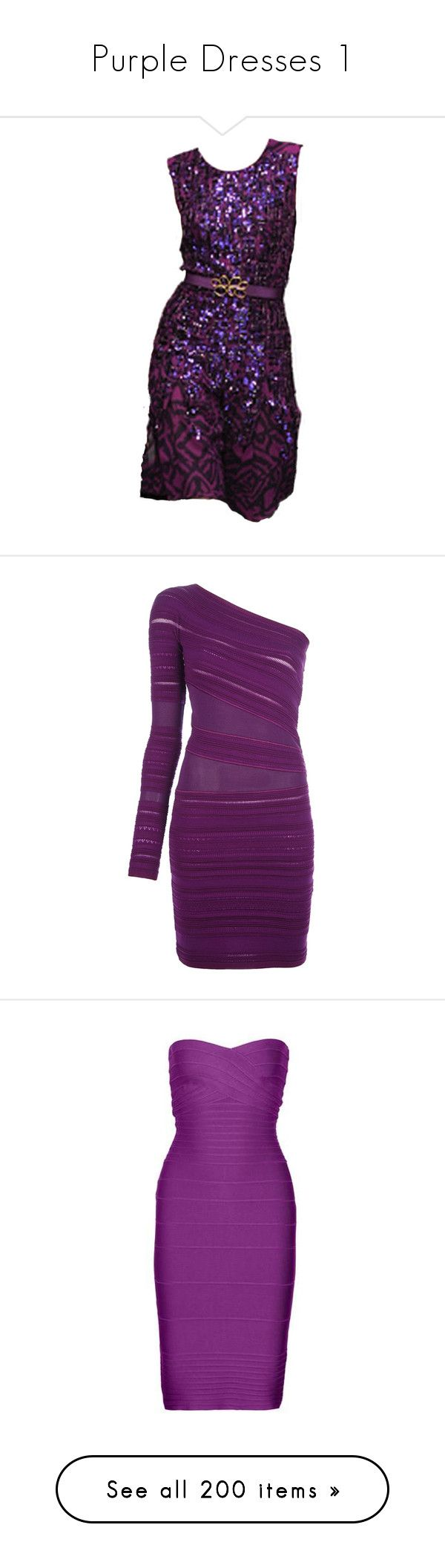 """Purple Dresses 1"" by kingcrimson ❤ liked on Polyvore featuring dresses, purple, purple dress, vestidos, short dresses, robe, long sleeve short dress, long sleeve dress, purple mini dress and long-sleeve mini dress"
