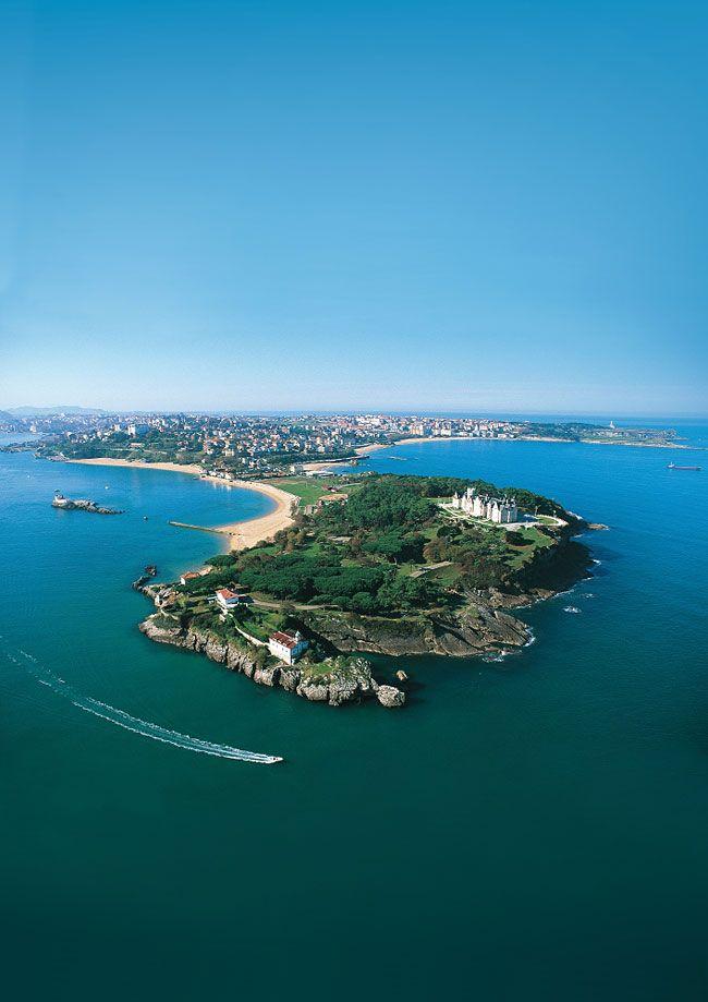 Península de la Magdalena #Santander  #Cantabria #Spain