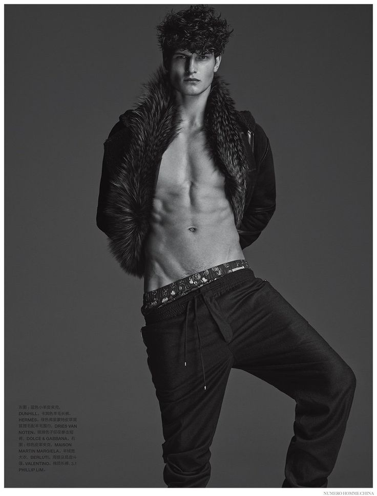 John Todd Dons Luxe Fall Furs for Numero Homme China Fashion Editorial image John Todd Numer Homme China Photo Shoot 003