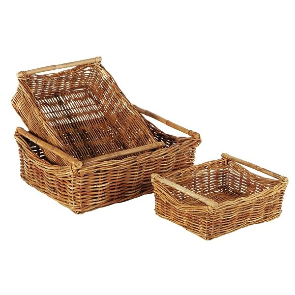 Basket Trays - Large, Medium
