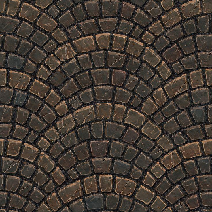 ArtStation - Cobble Stone Texture, Robin Dao