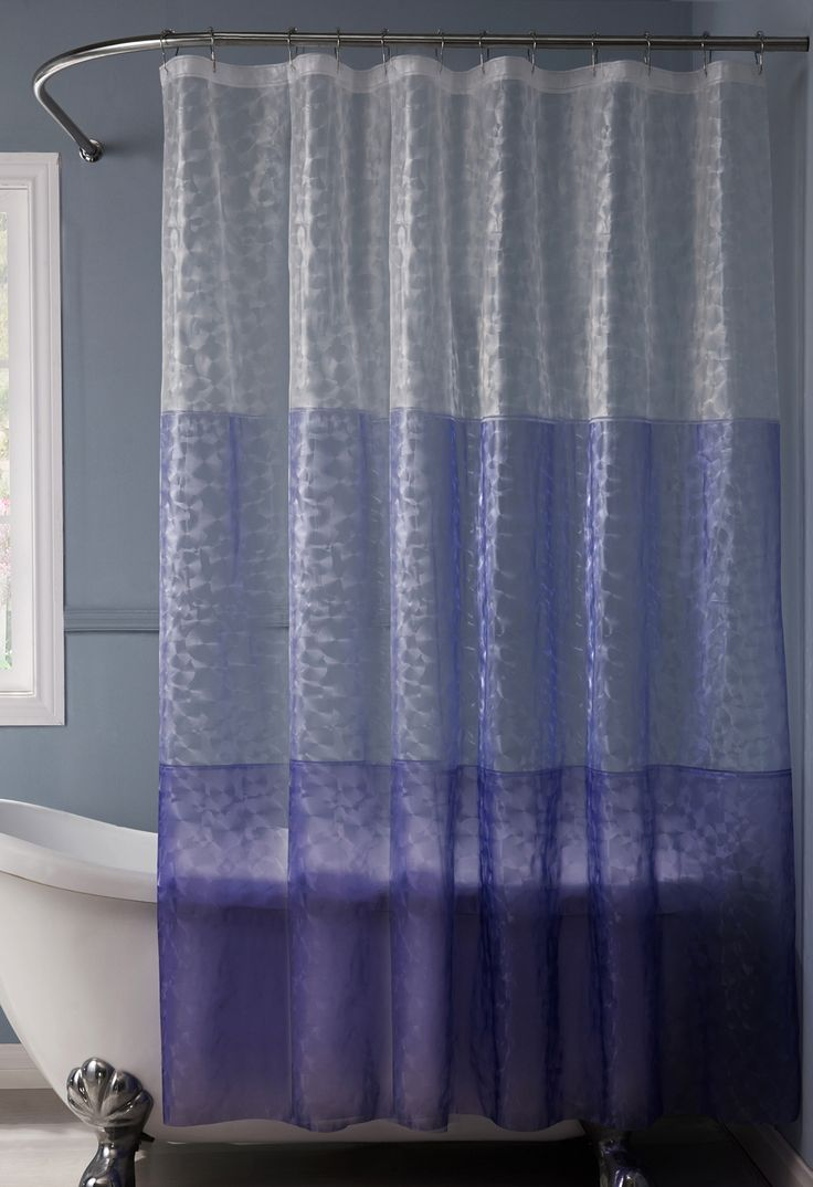 Exclusive fabrics painted chevron printed cotton curtain free - Reflection Peva 3d Shower Curtain