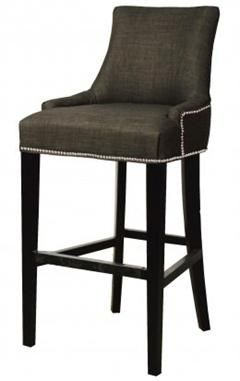 Awesome Charlotte Fabric Counter Stool