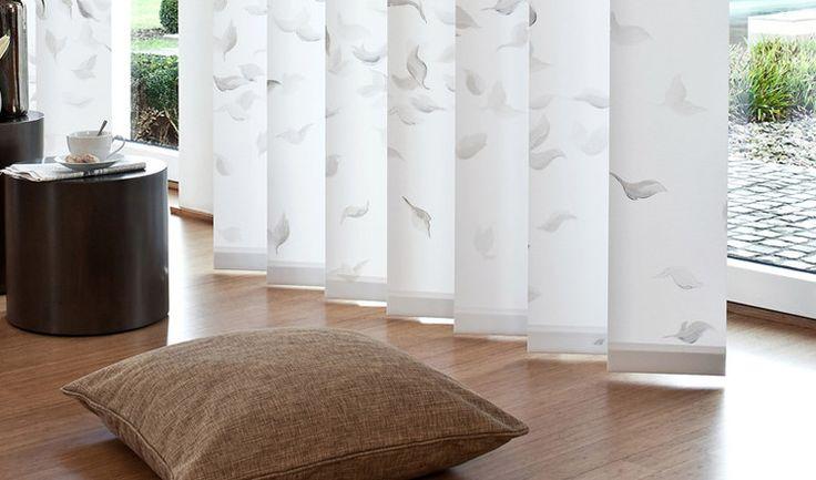 Teba Luxaflex Lamellenvorhang.