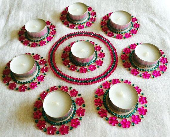 Diwali diya diwali diya set Christmas candle / by CozMHappy