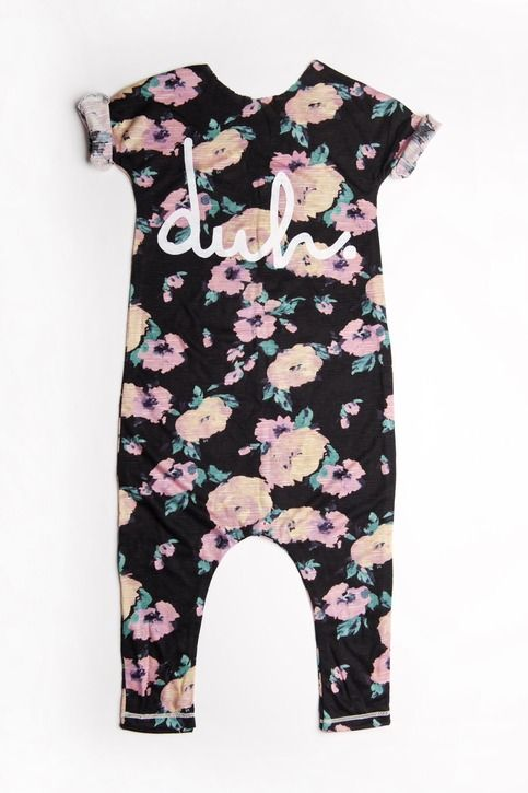 RAGS TO RACHES FLORAL ROMPER from AVA & CO.