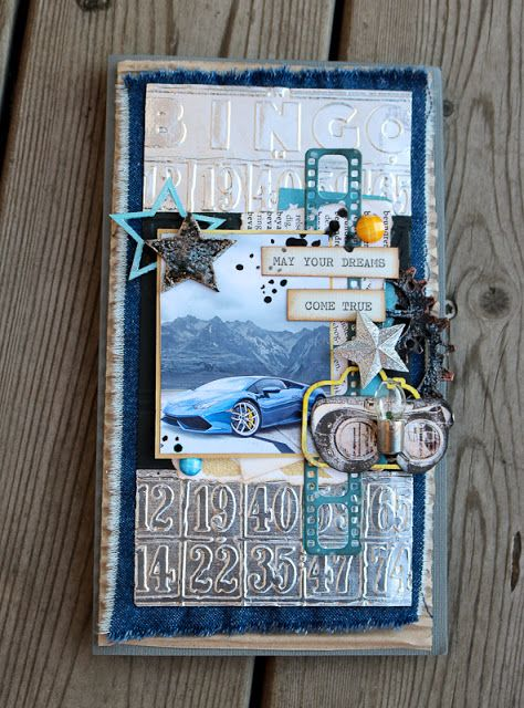 Dreamstream by Luddie Key: Bingo or The One Card to my friend
