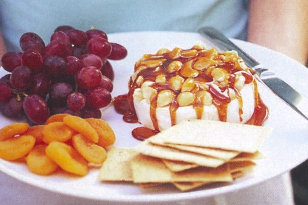 This simple camembert cheese and nut platter recipe is an entertainers dream - quick, easy and delicious!