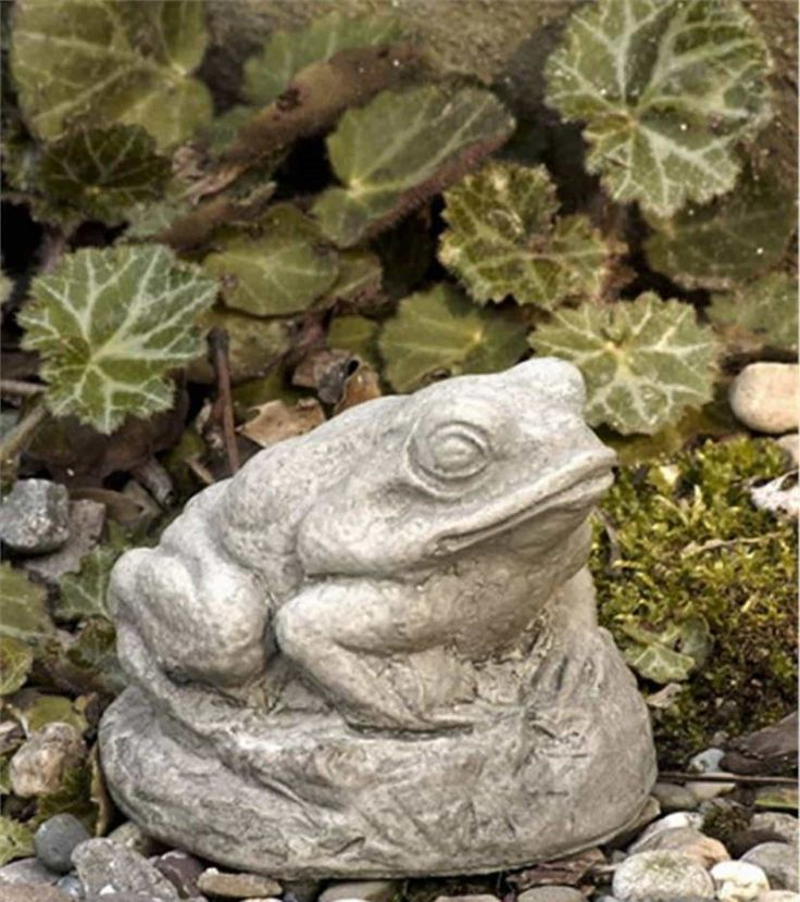 Outdoor Statues Frog : Garden And Lawn , Stone Garden Outdoor Statues
