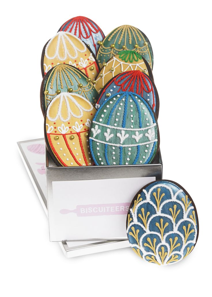 An alternative Easter idea! Biscuiteers Imperial Easter Egg biscuit tin