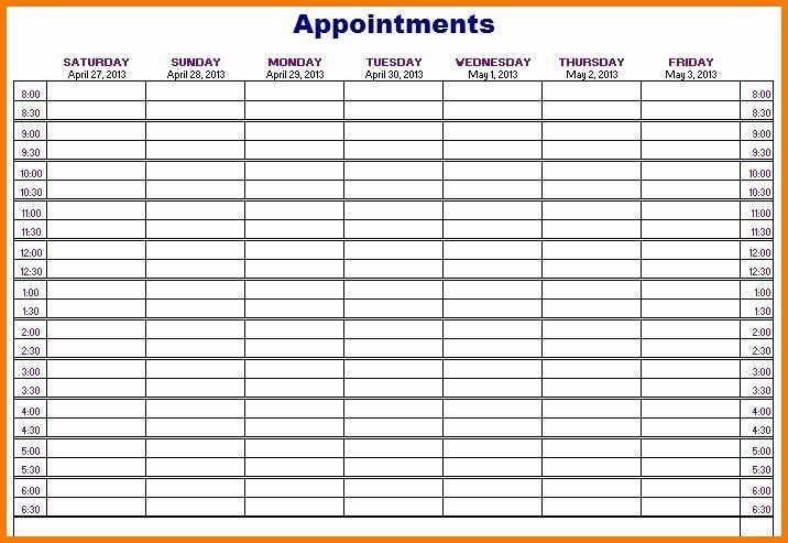 Weekly Appointment Calendar Template Fresh 50 Weekly Appointment Calendar Template Appointment Calendar Weekly Appointment Calendar Calendar Template